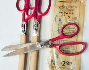 Scissors / Arrow Scissors from Ever Sharp / Ball Bearing and Steel Spring Signature Arrow / 3 Amazing Pairs