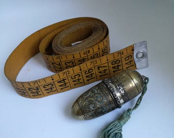 Sewing Sleeve-Brass Sewing Sleeve - Advertising Legertex-Sewing Gift For Sewing