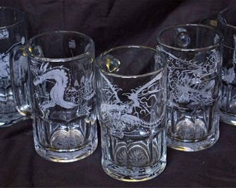 Monster Hunter Beer Mugs