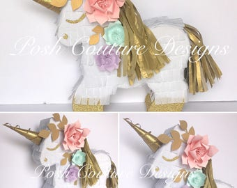 Unicorn Pinata, Unicorn Photo Prop, Unicorn Centerpiece, Unicorn First Birthday, Unicorn Bridal Shower, Unicorn Baby Shower