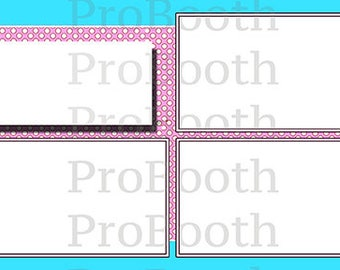Photo Strip Template for Photo Booths | 4096
