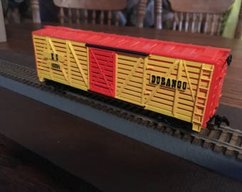 Vintage H O Model Train Stock Boxcar Made By TYCO Mint In The Original Box