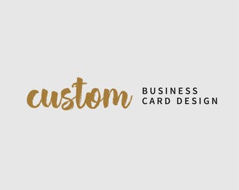 Custom Business Cards Design - Addon
