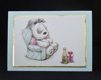 Father's Day Card, Male Birthday Card, 3d Decoupage Card, Handmade UK Card, Personalised Card, Dad Card, Uncle Card, Grandad Card