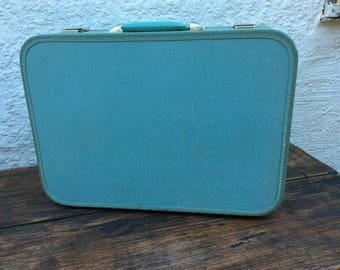 blue Airway suitcase
