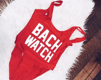 Bach Watch Swimsuit | Bach Swim | Bridesmaid Swimsuit | Bride
