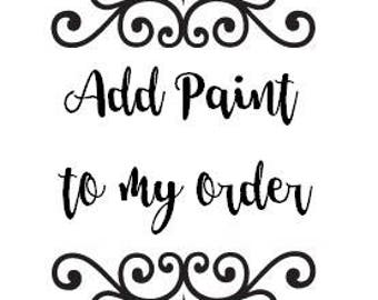 Add Paint to your Monogram!