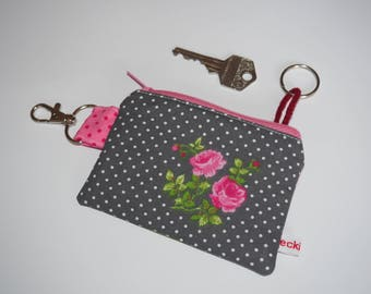 Key cases rose and point grey pink