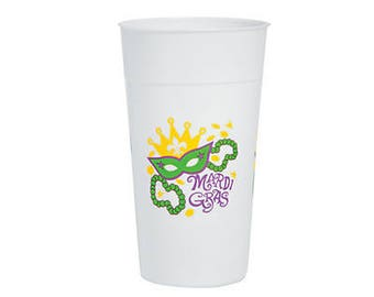 Mardi Gras Party cups / party cups