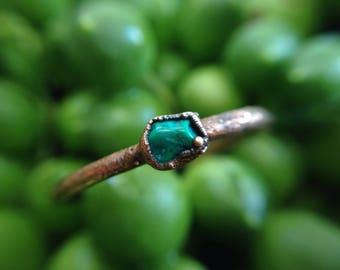 Magnesite Ring | Dainty Magnesite Ring | Copper Ring | Copper Ring Band | Size 6.5 | Ready-To-Ship