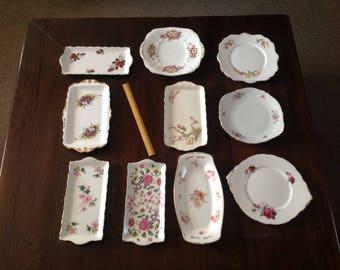10 cake plates / sandwich plates