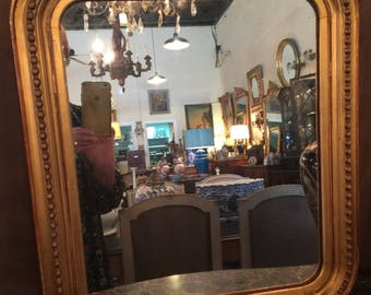 Small Louis Philippe Mirror From France