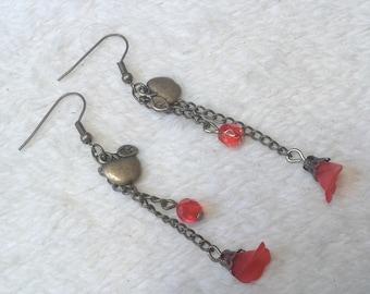 Fun apples earrings