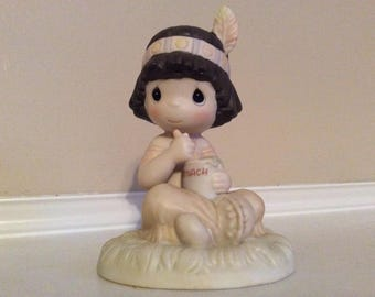 "Precious Moments "" Lord Keep Me in Teepee Top Shape"" Figurine Special Edition for Members."
