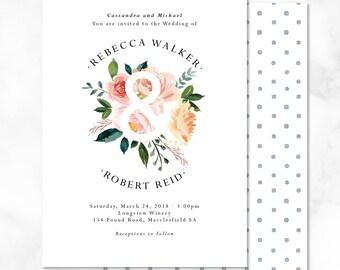The Ampersand Wedding Invitations