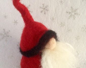 Needlefelted Tomte / Gnome