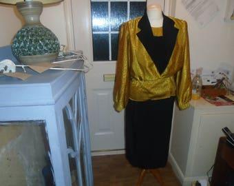 vintage dre black and gold