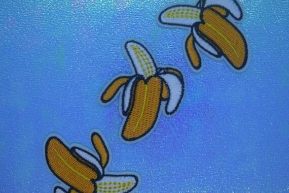 Banana Iron on Patch