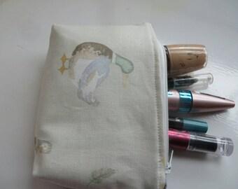 Make Up Purse, Pouch, Bag,Zipper pouch, ducks