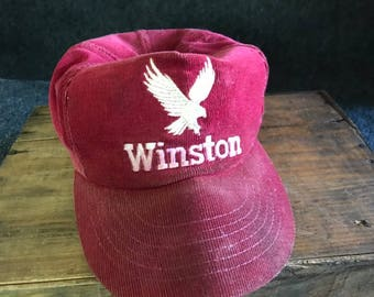 Vintage corduroy Winston trucker hat