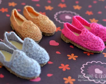 Cute Flats for Minifee BJD, Slim Mini [Color Choice]