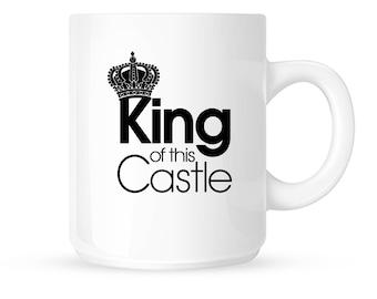 King of this Castle Coffee Mug| 11 oz