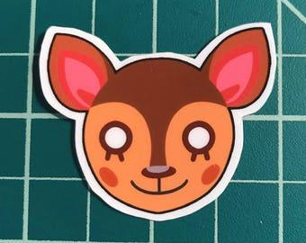 Animal Crossing Sticker | Fauna