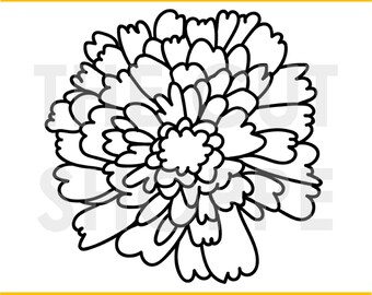 The Mums the Word cut file is a floral design, that can be used for your scrapbooking and papercrafting projects.