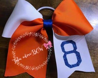 Cheer/softball bow