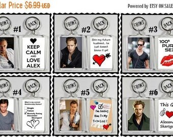 ON SALE NOW Alexander Skarsgard Keychain Key Ring - Many Designs To Choose From Shirtless