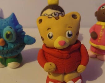 president sale Daniel tiger and o the owl, Katerina kittycat, prince Wednesday and miss elaina. Cake toppers