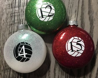 Volleyball Team Ornaments