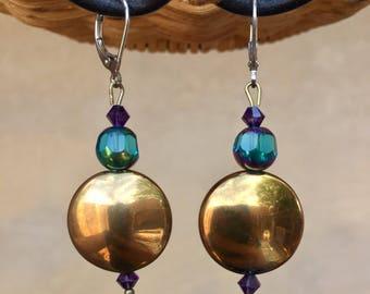 Cleopatra's Secret Treasure Leverback Earrings