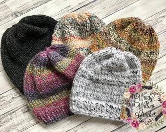 Adult Knitted Beanies