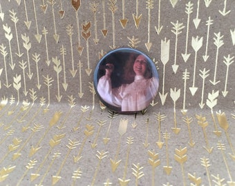 Margaret White, Carrie, Carrie Button, 1.5 inch pin back button, 37 mm pin back button