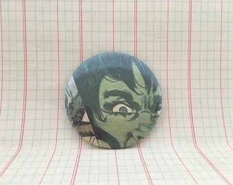 """Savage She Hulk, 2.25"""" pin back button, She-Hulk Comic"""