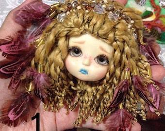 Wig for Lati Yellow/ Pukifee (feather)