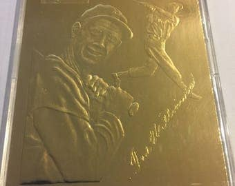 Ted Williams 22kt Gold Foil '54 Topps