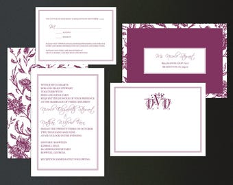 Custom Wedding Invitation Bundle