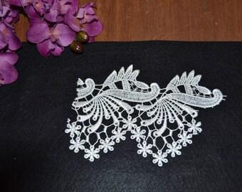1 pattern 7 model ivory guipure lace applique