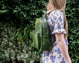 Real Leaf Backpack