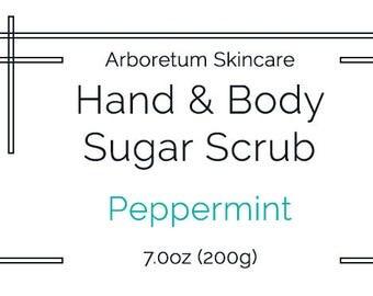 Hand & Body Sugar Scrub - 7.0oz