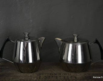 Retro Stainless Steel Swan Brand Tea Pot Jug