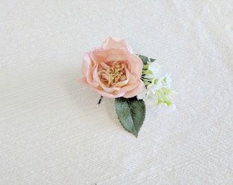 Hair Pin, Floral Pins, Hair Accesory, Floral Accesorry, Floral Hair Pin, Silk Flower Pin, Wedding Florals, Wedding Hair Accesory