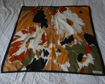 vintage French Gina Renior used head scarf