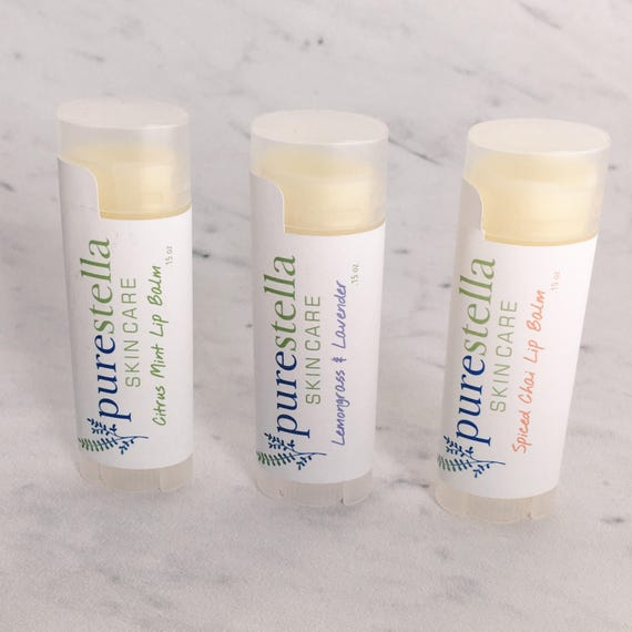 Ultra Moisturizing Lip Balm - 100% Natural handmade with Avocado Oil,  Jojoba Oil, and Shea Butter