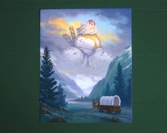 "The American Dream - 8x10"" fine art print"