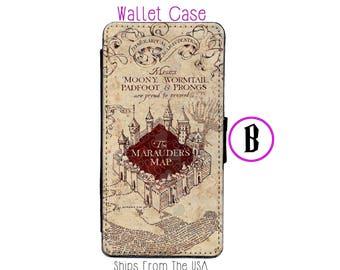 iPhone 7 Plus Case - iPhone 7 Plus Wallet Case - iphone 7 Plus - iPhone 7 Plus Wallet - Harry Potter iphone 7 Plus case B