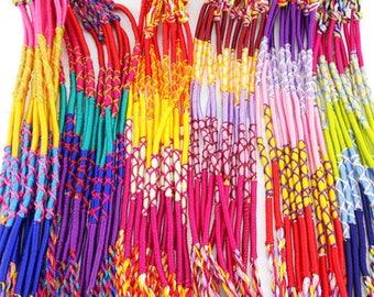 5 Cord bracelets