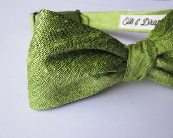 Mens vegan silk Bow Tie